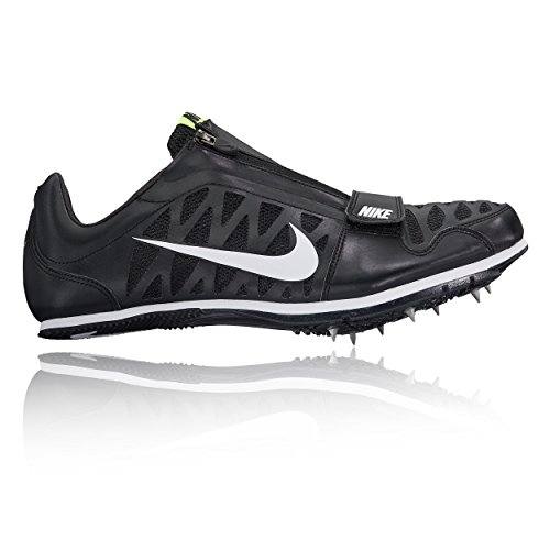 Nike Men\u0027s Zoom LJ 4 Track and Field Shoes(Black/White, 12 D(M) US)