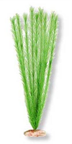 Vibran-Sea Soft Foxtail Silk-Style Aquarium Plant, Extra-Large 18-19 tall, Emerald Green ()