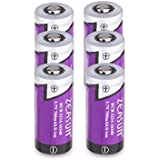 Zeasun CR123A RechargeabZeasun CR123A Li-ion Batteries [Ule Batteries for Arlo Security Cameras (VMC3030/VMK3200/VMS3330/3430/3530) [Upgraded] 3.7V 700mAh 16340(123/123A) Lithium-ion Batteries,4 Pack