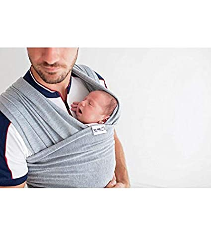 Baby Wrap Carrier Adjustable Breastfeeding Cover Cotton Sling Baby Carrier for Infants up to 35 lbs//16kg Baby wrap Sling Mundo Petit Pink Soft and Comfortable