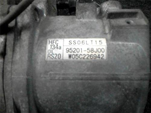 純正 AZワゴン MJ21 MJ22系 《 MJ21S 》 エアコンコンプレッサー 1A17-61-450A P90700-18007698
