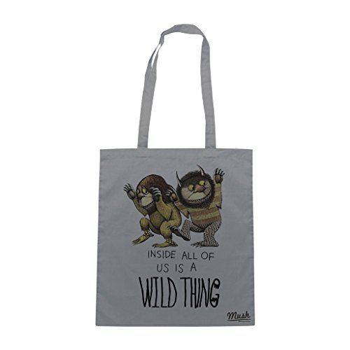 Borsa WHERE THE WILD THINGS ARE - Antracite - FILM by Mush Dress Your Style