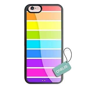 Personalized Popular Design iPhone 6 Slim TPU soft Case -Stripe Pattern Bumper Case for iPhone 6 (4.7 inch)