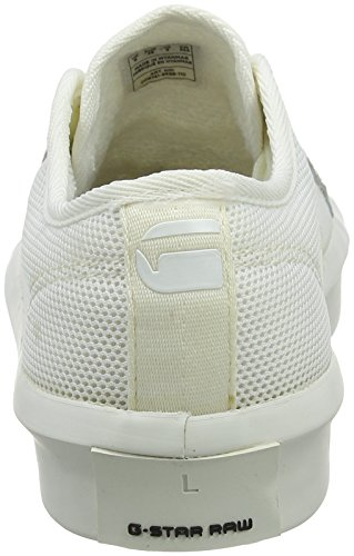 para RAW Lace Blanc Strett Mujer Blanco G Zapatillas Up STAR 6qYOOF