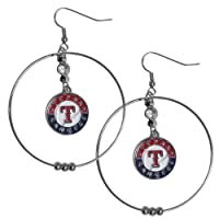 MLB Atlanta Braves Hoop Earrings, 2-Inch