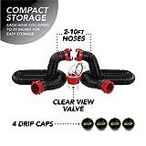 Valterra Black 20 Ft Kit D04-0275 Dominator Sewer