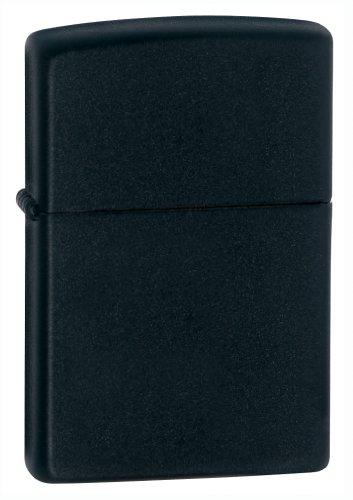 - Zippo 218 Black Matte Lighter