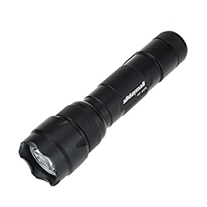 Alldaymall F-497 Wf-502B Cree Q5 Single Mode 200 Lumens Hunting LED Flashlight Torch, Blue Light