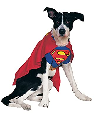 Rubies Costume DC Heroes and Villains Collection Pet Costume - Superman