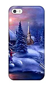 Awesome Christmas Desktop 800¡Á600 Flip Case With Fashion Design For Iphone 5/5s