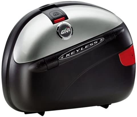 GIVI E41 Keyless MONOKEY® lato della valigia Argento Opaco