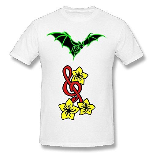 Fengzedid Bat (HQ) Women's Short Sleeve Fashion T ShirtSize S Color White