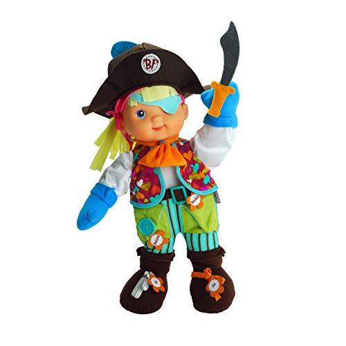 Baby's First Premium Zip-ity Pirate Baby 14