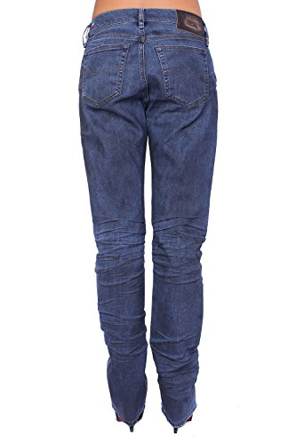 DIESEL - Jeans para Mujer MYGUY 804D - Relaxed Boyfriend - Stretch Azul