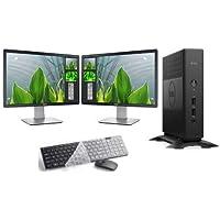 "Computer Package Dell 5060 8GB 240GB SSD Dual 22"" LCD DVD Win10P WiFi (Renewed)"