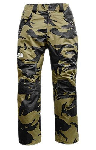 - The North Face Men's Straight Six Snow Pants, Burnt Olive Green Disrupt (XL)