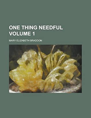 book cover of One Thing Needful