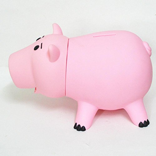 Zaring Cute Pink Pig Money Box Plastic Piggy Bank for Kid's Birthday Gift Without Box by Zaring (Image #2)