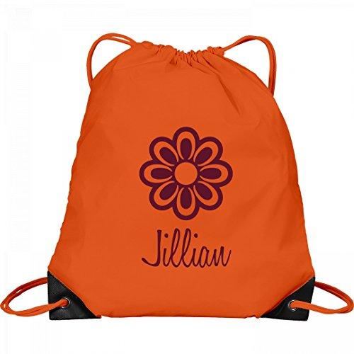 Flower Child Jillian: Port & Company Drawstring Bag by FUNNYSHIRTS.ORG