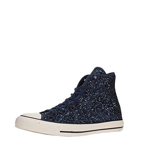 Glitter Converse Hi Montantes Blu Tex All Femme Star Baskets wwvYI