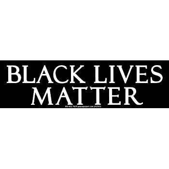 Black lives matter magnetic small bumper sticker decal magnet 5 x 1 75