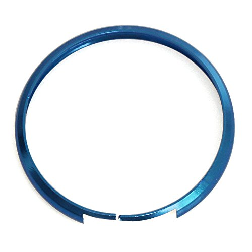9 MOON Smart Key Fob Replacement Ring Trim Decoration For 08-up Mini Cooper JCW R55 R56 R57 R58 R59 R60