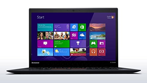 "Lenovo ThinkPad X1 Carbon 3rd Generation 2015 Business Ultrabook - Core i5-5200U, 128GB SSD, 4GB RAM, Anti-glare 14.0"" Full HD (1920x1080) Display, 720p HD Webcam, Intel AC-7265 WiFi, Bluetooth, Fingerprint Reader, Backlit Keyboard, Windows 8.1 Pro"