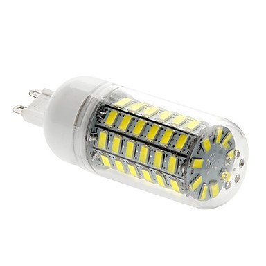 ZHANGYONG* G9 15W 69x5730SMD 1500LM 6000-6500K LED Bombilla de luz blanca de maíz