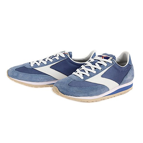 Brooks Vanguard Women Round Toe Synthetic Running Shoe denim-blau