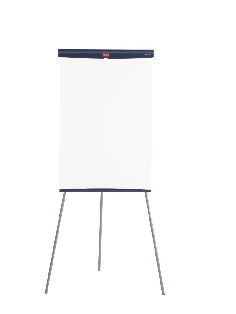 Nobo Basic Melamine Tripod Easel (Height Adjustable, Suitable for Flip Charts) 1905241