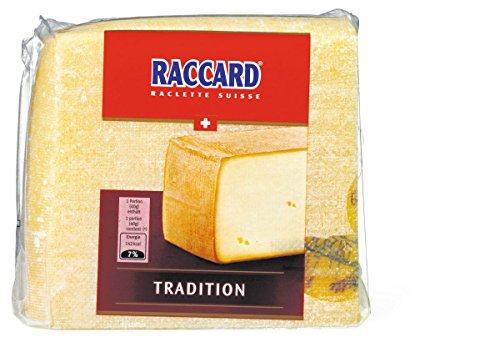 Raccard Swiss Raclette - Square, Great for Slicing (Small Rectangle (1 Pound)) Rectangle Swiss