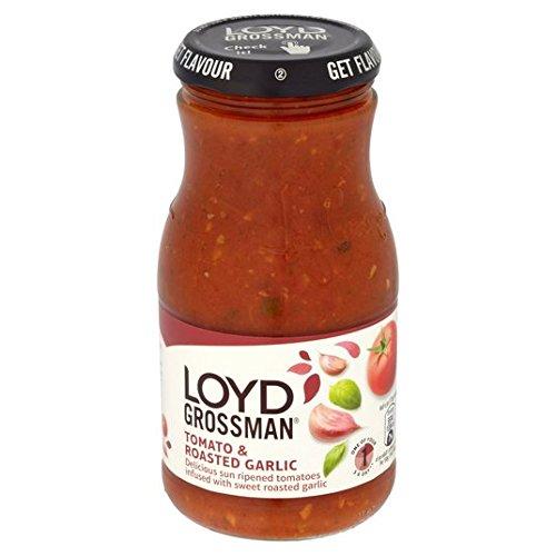 Loyd Grossman tomate y ajo asado Pasta 350g Salsa