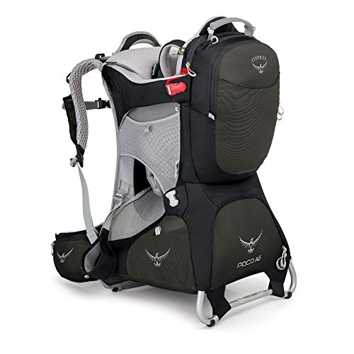 (Osprey Packs Poco AG Child Carrier, Black)