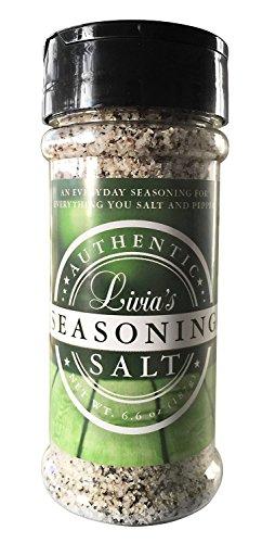 Livia's Seasoning Salt, 6.6 oz (3-Piece) by Livia's