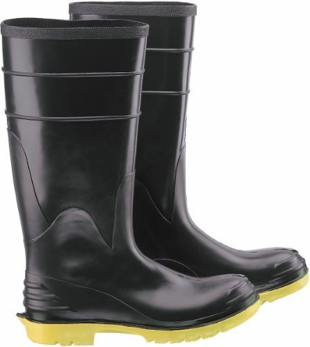 ONGUARD 86802 Polyblend Men's Steel Toe and Midsole Knee Boots with Ultragrip Outsole, 16 Height, Size 9 by ONGUARD Industries