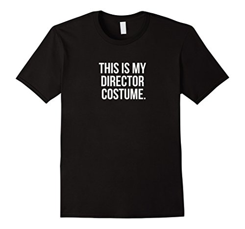 Band Director Halloween Costume (Mens This is my Director Costume funny Halloween tee shirt Small Black)