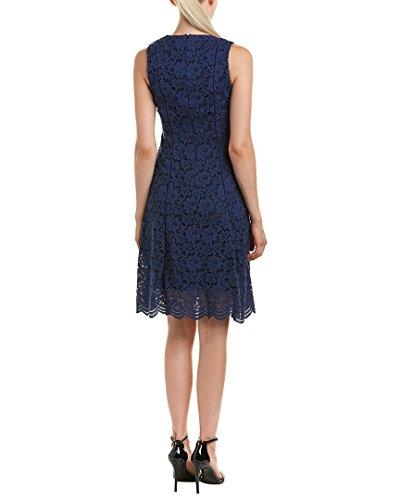 Donna Ricco Womens Robe Une Ligne, 12, Bleu