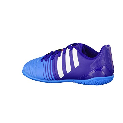 Adidas Nitrocharge 4.0 IN J BLACK1/CHALK2/LGTSCA
