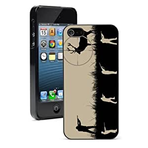 For Apple iPhone 4 4S Hard Case Cover Sniper Shooting Hunting Deer -01