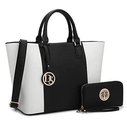 7e754f3bbf MMK Collection Fashion Perfect Packlock Handbag Signature Designer Purse  for Women