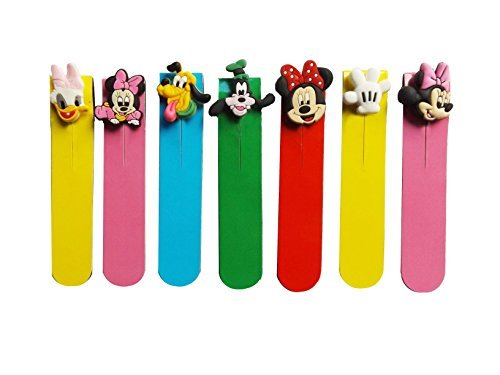 AVIRGO Magnetic Bookmarks Page Markers Colorful Set (72-16) ()