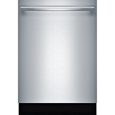 """Bosch SHXN8U55UC 800 Series 24"""" Dishwasher with Quiet Operation in Stainless Steel"""