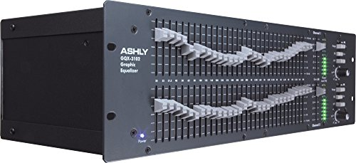 Ashly GQX-3102 2 Channel 1/3 Octave Graphic Equalizer by Ashly (Image #7)