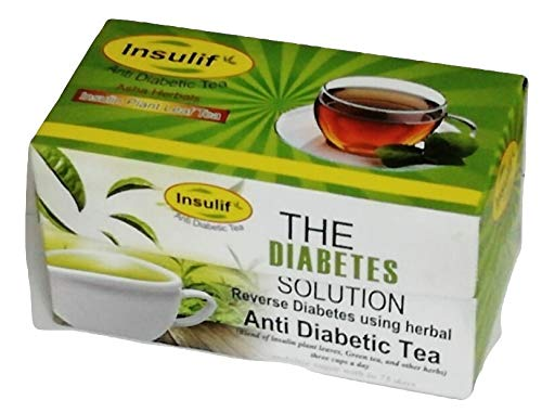 Insulif Anti Diabetic Tea for Reverse Diabetes Using Herbal (50)