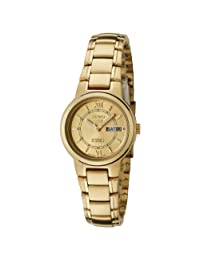 Seiko Women's 5 Automatic SYME58K Gold Gold Tone Stainles-Steel Automatic Watch
