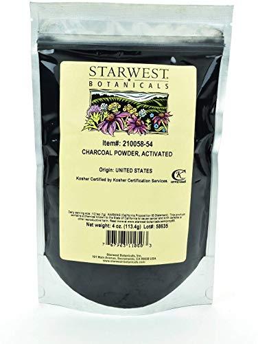 Starwest Botanicals Charcoal Powder