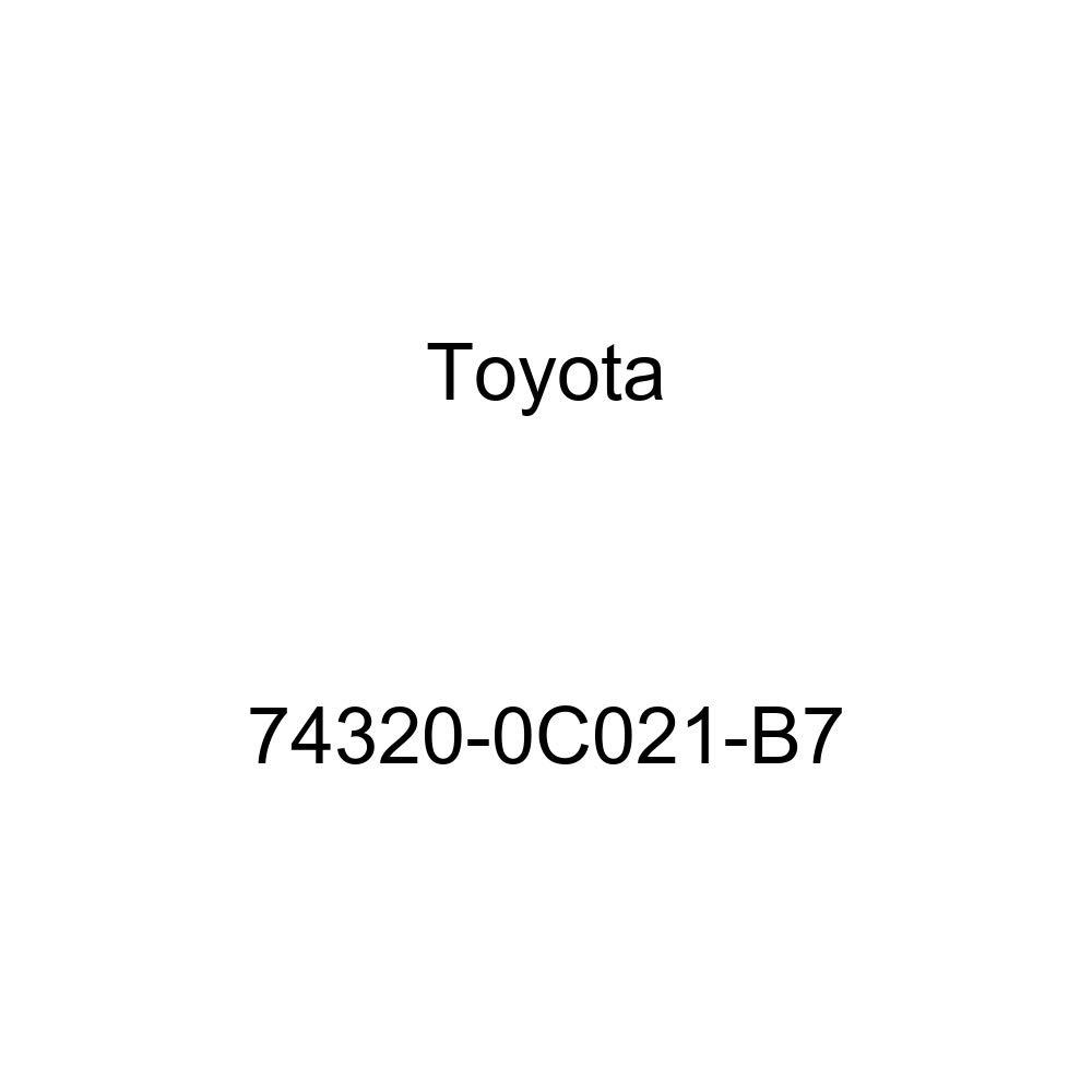 TOYOTA Genuine 74320-0C021-B7 Visor Assembly