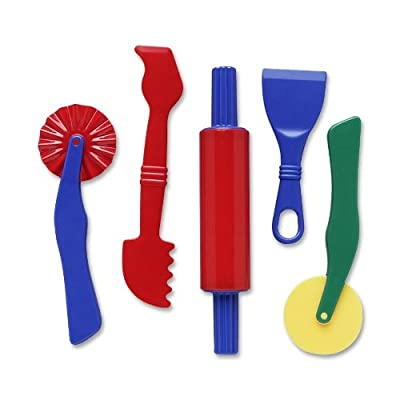 Dough Tools - 5 Piece Assortment: Toys & Games