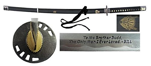 Kill Bill Replica by Musashi – Full Tang Budd's Inscribed Handmade Sword