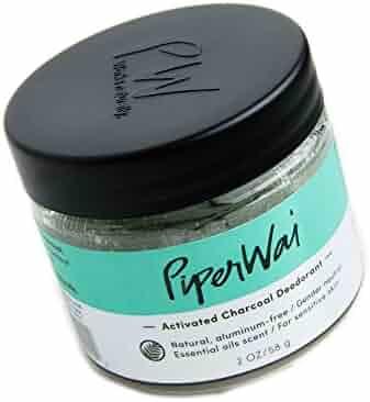 PiperWai Natural Deodorant Jar (As Seen on Shark Tank)